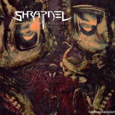 Discos de vinilo: SHRAPNEL THE VIRUS CONSPIRES 2 LP VINILO PRECINTADO 180 GRAMOS (SODOM, KREATOR,SLAYER). Lote 130684359