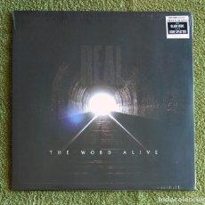 Discos de vinilo: THE WORD ALIVE - REAL. 12'' LP PRECINTADO - METALCORE. Lote 130685799