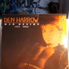 Discos de vinilo: DEN HARRIS MAD DESIRE, MÀXI SINGLE. Lote 130703541