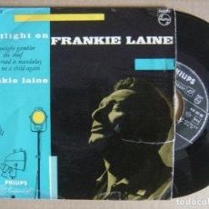 Discos de vinilo: FRANKIE LAINE - MOONLIGHT GAMBLER - EP HOLANDES - PHILIPS. Lote 130705884