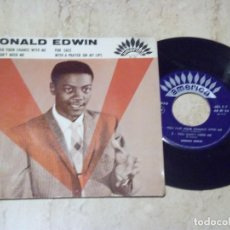 Discos de vinilo: DONALD EDWIN /YOU HAD YOUR CHANCE WITH ME/ + 3 -RARE-R&B POPCORN NORTHERN SOUL MOD-. Lote 130715704