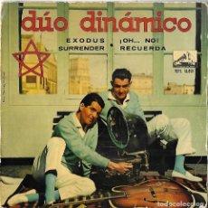 Discos de vinilo: DUO DINÁMICO: EXODUS / SURRENDER / ¡OH... NO! / RECUERDA. Lote 130722465