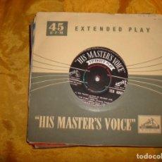 Discos de vinilo: MARIO LANZA. WE THREE KINGS OF ORIENT ARE + 3 . EP. HIS MASTER´S VOICE. EDICION INGLESA. Lote 130722474