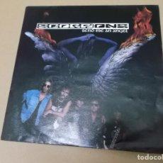 Discos de vinilo: SCORPIONS (SN) SEND ME AN ANGEL AÑO 1991. Lote 130724609