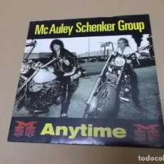 Discos de vinilo: MC AULEY SCHENKER GROUP (SN) ANYTIME AÑO 1990. Lote 130728394