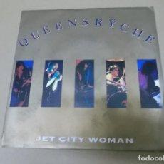 Discos de vinilo: QUEENSRYCHE (SN) JUST CITY WOMAN AÑO 1991. Lote 130730179