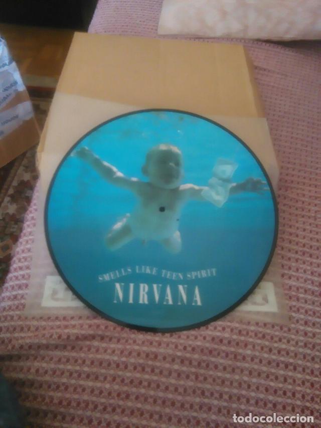 Discos de vinilo: Nirvana ?– Smells Like Teen Spirit Sello: DGC ?– GET 21712 Formato: Vinyl, 12 , Picture Disc País: - Foto 3 - 130756476