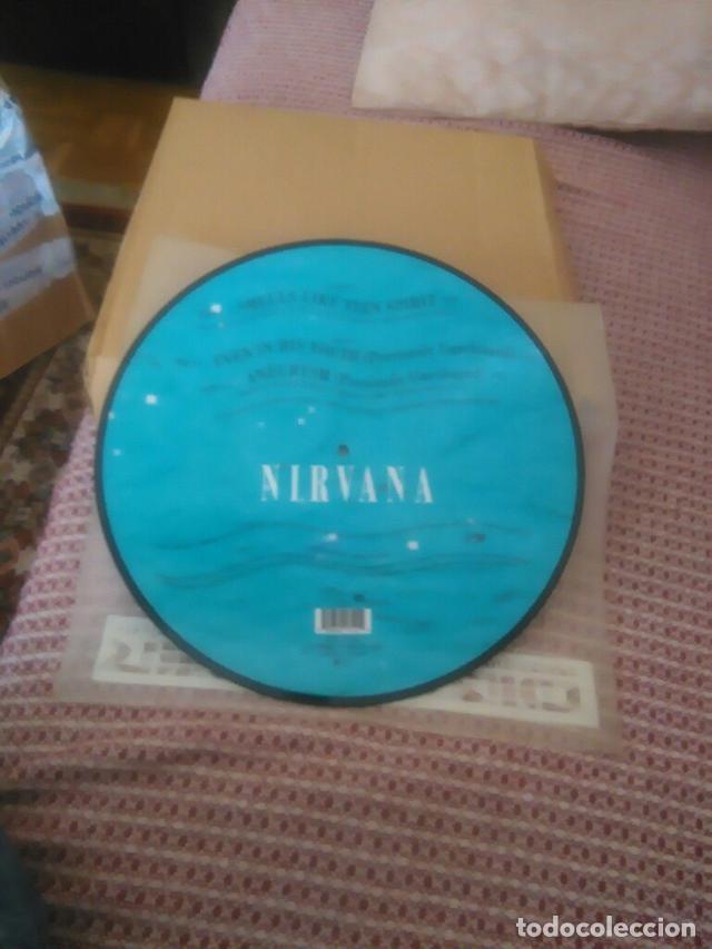 Discos de vinilo: Nirvana ?– Smells Like Teen Spirit Sello: DGC ?– GET 21712 Formato: Vinyl, 12 , Picture Disc País: - Foto 4 - 130756476