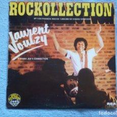 Disques de vinyle: LAURENT VOULZY Y MAMA JOE´S CONNECTION,ROCKOLLECTION ALBUN DEL 77. Lote 261152635