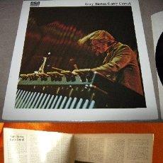 Discos de vinilo: GARY BURTON, LARRY CORYELL, MASTERS 1977, GREAT JAZZ FUSION, RARA EDIC ORG FRANCE, TODO IMPECABLE. Lote 130765864