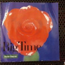 Discos de vinilo: SINGLE - PETER GABRIEL – BIG TIME (ED. PORTUGUESA) - VIRGIN – 505460. Lote 130783437