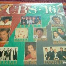 Discos de vinilo: CBS 16- 2LPS 1987 JULIO IGLESIAS EUROPE SPANDAU BALLET MOCEDADES VICKY LARRAZ TERENCE TRENT D´ARB. Lote 130785820