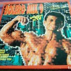 Discos de vinilo: BOLERO MIX 9 DOBLE LP, BLANCO Y NEGRO 1992 VER FOTOS. Lote 130786620