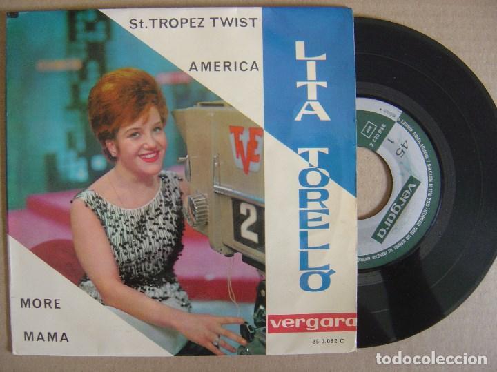 LITA TORELLO - MORE - EP 1964 - VERGARA (Música - Discos de Vinilo - EPs - Solistas Españoles de los 50 y 60)