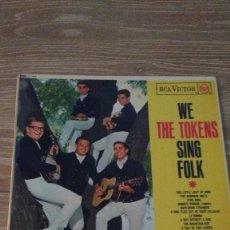 Discos de vinilo: ALBUM DEL GRUPO NORTEAMERICANO DE ROCK , FOLK Y DOO-WOP, THE TOKENS. Lote 130799396