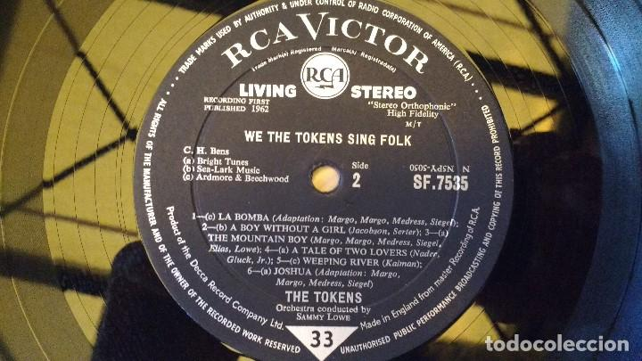 Discos de vinilo: ALBUM DEL GRUPO NORTEAMERICANO DE ROCK , FOLK Y DOO-WOP, THE TOKENS - Foto 3 - 130799396
