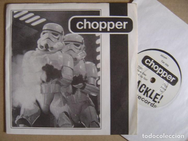 CHOPPER - FOR YOUTH AND VALOUR - UK EP 1996 - CRACKLE (Música - Discos de Vinilo - EPs - Punk - Hard Core)
