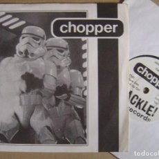 Discos de vinilo: CHOPPER - FOR YOUTH AND VALOUR - UK EP 1996 - CRACKLE. Lote 130802040