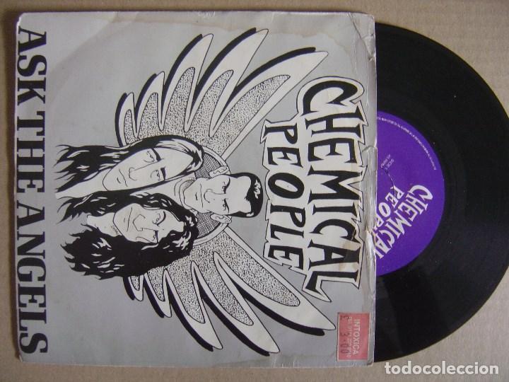 CHEMICAL PEOPLE ASK THE ANGELS - UK EP 1990 - VINYL SOLUTION (Música - Discos de Vinilo - EPs - Punk - Hard Core)