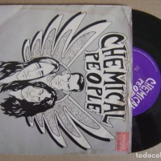 Discos de vinilo: CHEMICAL PEOPLE ASK THE ANGELS - UK EP 1990 - VINYL SOLUTION. Lote 130802612
