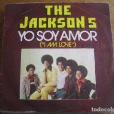 Discos de vinilo: THE JACKSON 5 - I AM LOVE ********* MEGA RARO SINGLE ESPAÑOL 1975. Lote 130807788