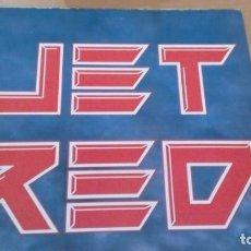 Discos de vinilo: JET RED JET RED LP INSERTO. Lote 130809604