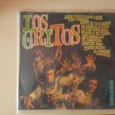 Discos de vinilo: LOS GRITOS LP SELLO BELTER PRIMER DISCO DE LARGA DURACIÓN. Lote 130810359