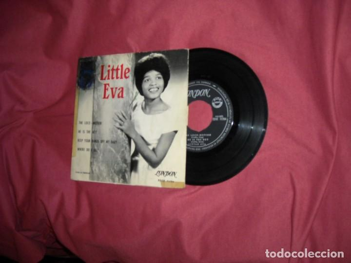 LITTLE EVA- THE LOCO-MOTION + 3 - EP LONDON ESPAÑA 1963 VER FOTO (Música - Discos de Vinilo - EPs - Funk, Soul y Black Music)