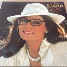 Discos de vinilo: NANA MOUSKOURI - TIERRA VIVA. PHILIPS 1987.. Lote 130824980