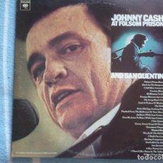 Vinyl records - johnny cash,at folsom prison and san quentin edicion usa doble lp - 130825716
