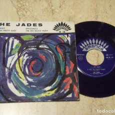 Discos de vinilo: THE JADES WITH THE PACERS BAND ? /OH WHY / + 3 R&B DOO WOP '50S WEST COAST R&R/ R&B-EP-FRANCE-EDITIO. Lote 130830916