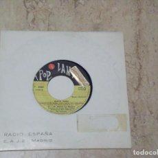 Discos de vinilo: DARWIN TEORIA- UNA CHICA SIN CORAZON / +1 RARE SINGLE PROMO-POPLANDIA 1969- RADIO ESPAÑA MADRID-. Lote 130834584