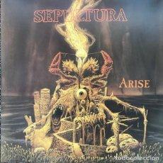 Discos de vinilo: SEPULTURA – ARISE - RE 2018 - DOUBLE 2X LP VINYL - SEALED- PRECINTADO ROADRACER RECORDS. Lote 130843088