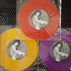 Discos de vinilo: SINGLES - KATE BUSH - INTERVIEW 85/86 - VINILOS DE COLORES. Lote 130844503