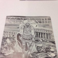 Discos de vinilo: CODE XIII-- THEY MADE A WASTELAND AND CALLED IT PEACE --HARD CORE. Lote 130852688