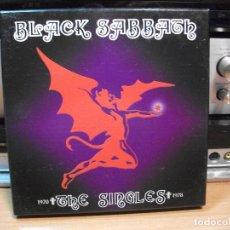 Discos de vinilo: BLACK SABBATH THE SINGLES 1970 - 1978 BOX / SINGLE ITALIA 2004 PEPETO TOP. Lote 130855820
