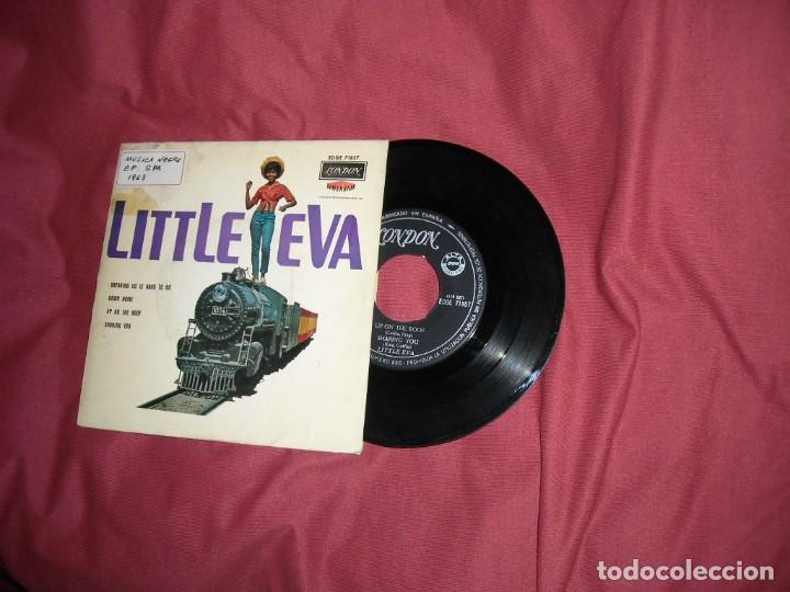 Discos de vinilo: LITTLE EVA EP BREAKING UP IS HARD TO DO 1963 EDICION SPA - Foto 1 - 130859220