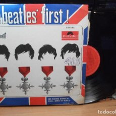 Discos de vinilo: THE BEATLES THE BEATLES FIRST LP CHILE 1967 PEPETO TOP . Lote 130865692