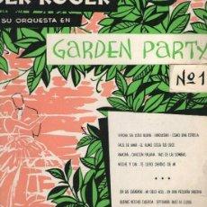 Discos de vinilo: ROGER ROGER GARDEN PARTY Nº 1, DISCO 10 PULGADAS HISPAVOX HS 8303 (TROMPETA GEORGES JOUVIN). Lote 130867188