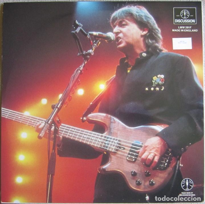 Discos de vinilo: PAUL McCARTNEY (THE BEATLES): PRESS CONFERENCES TOKYO / CHICAGO 1990. 2 CONFERENCIAS DE PRENSA - Foto 2 - 130887752