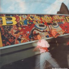 Discos de vinilo: BLANCMANGE - BELIEVE YOU ME / LP LONDON RECORDS DE 1985 RF-5040. Lote 130893572