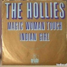 Discos de vinilo: HOLLIES - MAGIC WOMAN TOUCH (SG) 1972. Lote 130897436