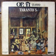 Discos de vinilo: TARANTO'S - OP. PI (3,1416) - 1969 - PEKENIKES, LOS PASOS, TONY LUZ. Lote 130912500