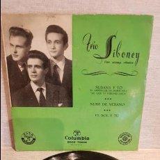 Discos de vinilo: TRÍO SIBONEY / SUSANA Y YO / EP - COLUMBIA / AÑOS 50 / MBC. ***/***. Lote 130917532