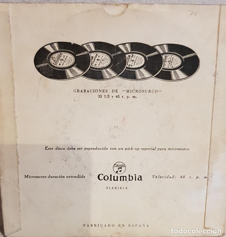 Discos de vinilo: TRÍO SIBONEY / SUSANA Y YO / EP - COLUMBIA / AÑOS 50 / MBC. ***/*** - Foto 2 - 130917532