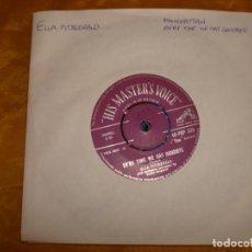 Discos de vinilo: ELLA FITZGERARD. MANHATTAN . HIS MASTER´S VOICE . EDICION INGLESA. IMPECABLE. Lote 130922232