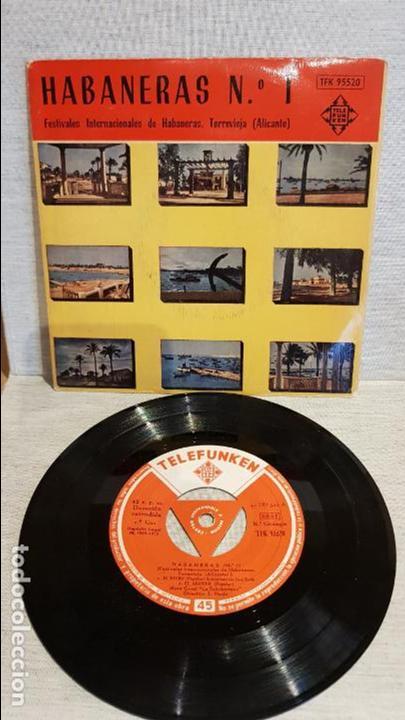 HABANERAS Nº 1 / FESTIVALES DE TORREVIEJA - 1958 / EP - TELEFUNKEN / MBC. ***/*** (Música - Discos de Vinilo - EPs - Otros estilos)