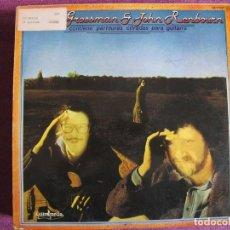 Discos de vinilo: LP - JOHN RENBOURN AND STEFAN GROSSMAN - SAME (SPAIN, GUIMBARDA 1979). Lote 130923464