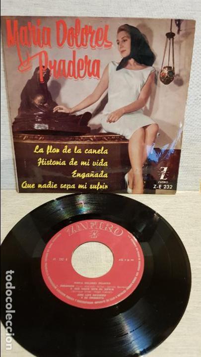 MARÍA DOLORES PRADERA / LA FLOR DE LA CANELA / EP - ZAFIRO - 1961 / MBC. ***/*** (Música - Discos de Vinilo - EPs - Grupos y Solistas de latinoamérica)