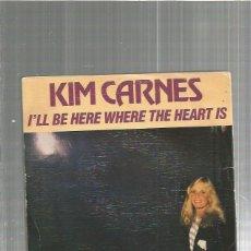Discos de vinilo: KIM CARNES BE HERE. Lote 194288672